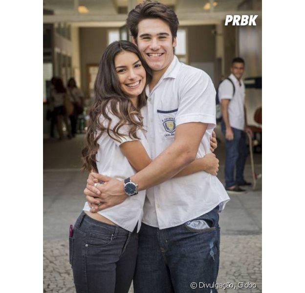 """De """"Malhação"""", Nicolas Prattes e Marina Moschen interpretam novo par romântico em """"Rock Story"""""""