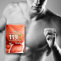 """Gadget de fitness """"Skulpt Aim"""" mostra como está o nível da sua massa muscular"""