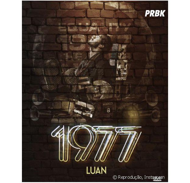 """Luan Santana está a mil com a divulgação do seu novo trabalho, o DVD """"1977"""""""