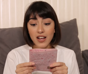 Maju Trindade abre o seu diário e revela segredos antigos em vídeo inédito