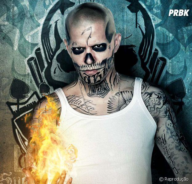 """Filme """"Esquadrão Suicida"""":El Diablo(Jay Hernandez) faz parte do clã de mercenários da DC Comics"""