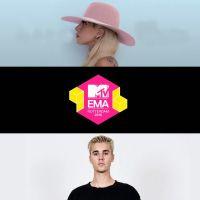EMA 2016: Lady Gaga e Justin Bieber estão entre os premiados. Veja a lista completa!