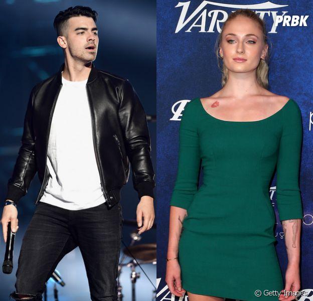 Fotografados em clima de romance, Joe Jonas e Sophie Turner podem ser o novo casal do mundo dos famosos!