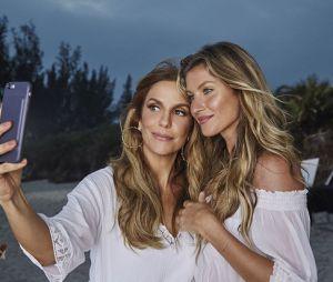 Ivete Sangalo e Gisele Bündchen posam com tom de cabelo parecido para campanha