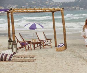 Ivete Sangalo e Gisele Bündchen posam em praia para marca de tintura