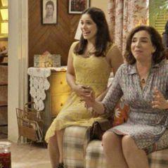"""Final """"Haja Coração"""": Shirlei (Sabrina Petraglia) anuncia que está grávida de Felipe!"""