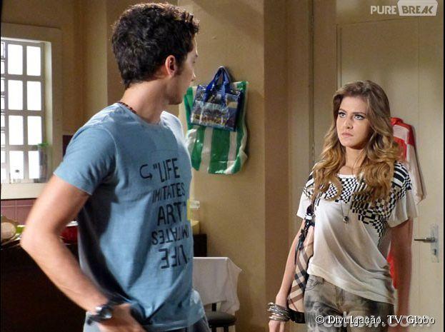 """Em """"Malhação"""", Sofia (Hanna Romanazzi) dirá que está grávida de Ben (Gabriel Falcão)"""