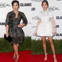Demi Lovato ou Zendaya? Vote no seu look favorito do Glamour Women Of The Year 2016!