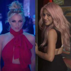 """Britney Spears x Shakira: vote entre """"Slumber Party"""" e """"Chantaje"""" como melhor clipe da semana!"""