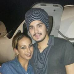 Valesca posa ao lado de Luan Santana em aeroporto com jatinhos ao fundo #Luxo