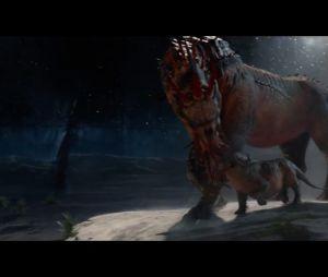 Arpéu: tá aí um dos grandões! O animal do filme é diferente da criatura do livro, conhecida por seus dois chifres longos e afiados. O bicho de grande porte caminha sobre pés de quatro dedos e tem uma natureza extremamente agressiva
