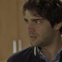 "Novela ""A Lei do Amor"": Tiago (Humberto Carrão) vai armar para Letícia (Isabella Santoni)"