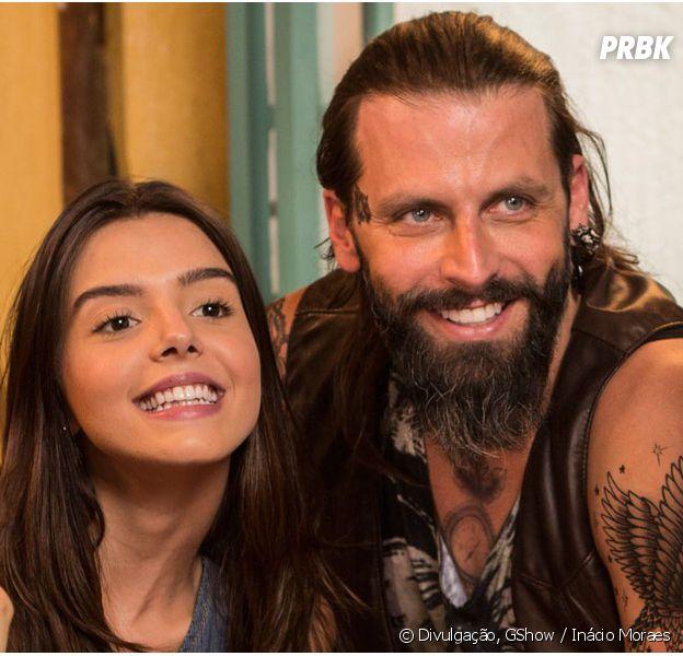 """Em """"Sol Nascente"""": Ralf (Henri Castelli) assume estar apaixonado por Milena (Giovanna Antonelli)!"""