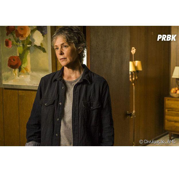 """Em """"The Walking Dead"""": na 7ª temporada, Carol (Melissa McBride)reaparece na história"""