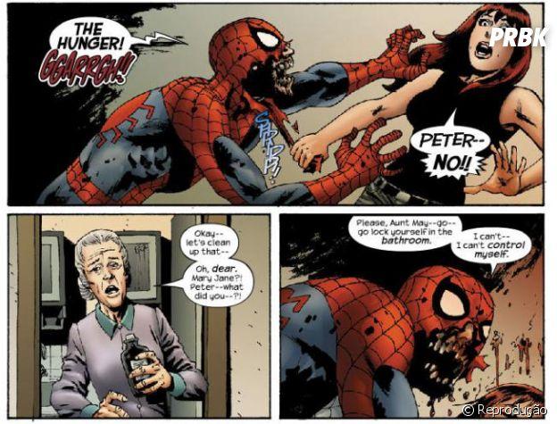 Homem-Aranha já virou um zumbi em um dos quadrinhos da Marvel!