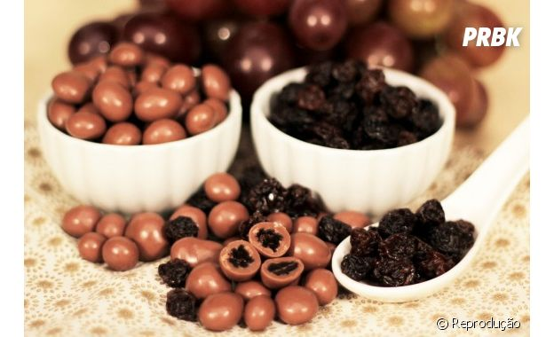 Chocolates e passas são inimigos naturais, afirmam os haters