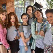 """Larissa Manoela mostra primeira foto do elenco de """"Meus 15 Anos""""!"""