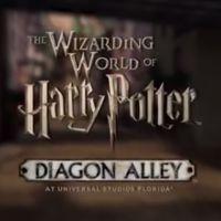"""Vídeo revela detalhes do Beco Diagonal no parque temático de """"Harry Potter"""""""