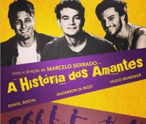 """Hugo Bonemer é uma das estrelas da peça """"A História dos Amantes"""""""