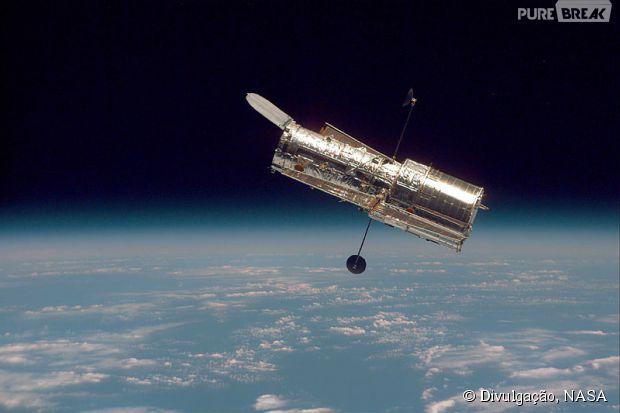 Uma foto do telescópio Hubble em 1997