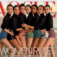 Gigi Hadid e Kendall Jenner estampam capa da Vogue com outras supermodelos para discutir diversidade