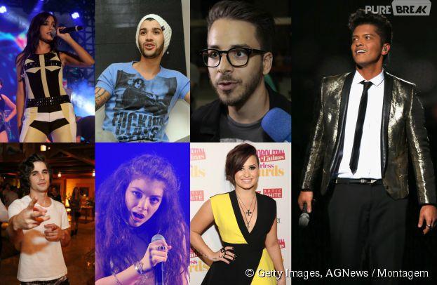 17 nomes verdadeiros dos famosos como Anitta, Fiuk e Demi Lovato