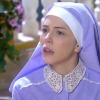 """Novela """"Carinha de Anjo"""": Cecília (Bia Arantes) não sabe se quer ser freira e André tem esperanças!"""