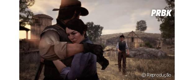 """Aigail e John Marston é o casal de """"Red Dead Redemption"""""""