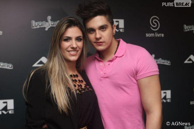 Luan Santana está namorando Jade Magalhães novamente, segundo jornal