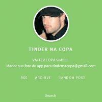 """Tumblr """"Tinder na Copa"""" mostra invasão de gringos na rede social de pegação"""