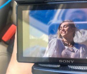 Miley Cyrus pode estar gravando um clipe novo