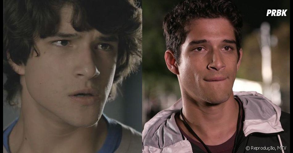 """De """"Teen Wolf"""": Scott (Tyler Posey) na 1ª e 6ª temporada"""