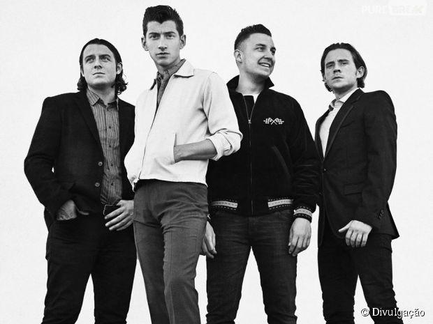 Arctic Monkey se apresenta em São Paulo e no Rio de Janeiro