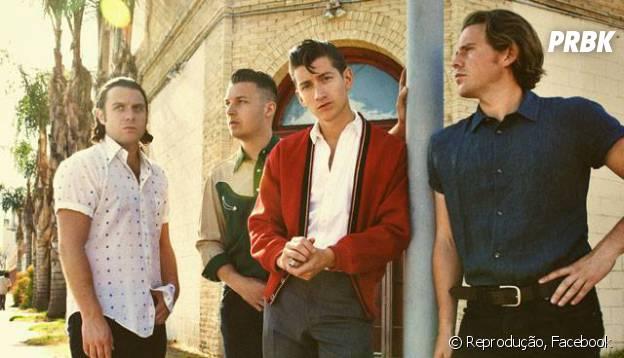 Arctic Monkeys se apresenta no Rio de Janeiro e em São Paulo