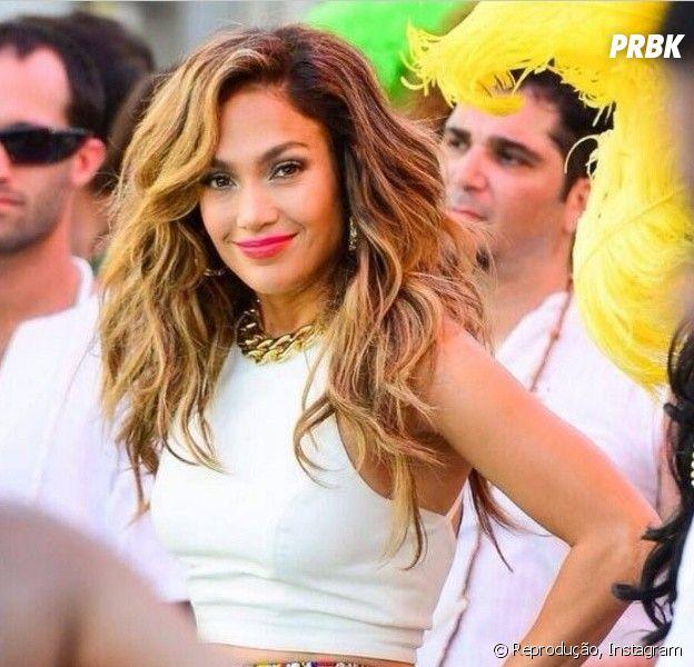 Confira tudo que Jennifer Lopez fez até agora aqui no Brasil, horas antes de se apresentar na abertura da Copa do Mundo