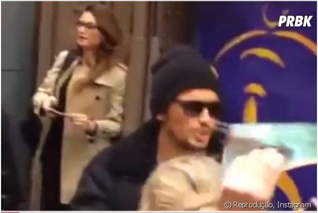 James Franco e Thaila Ayala foram flagrados juntos em Nova York