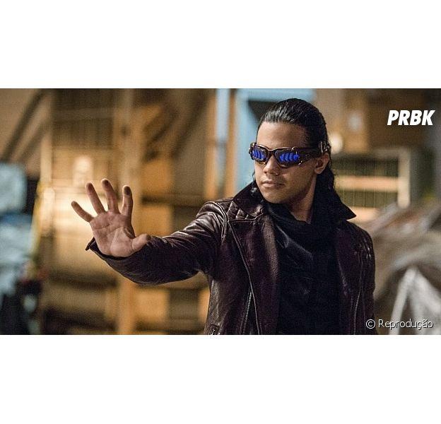 """De """"The Flash"""": artista revela novo visual de Vibro na 3ª temporada da série!"""