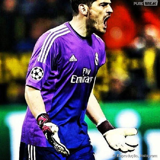 Iker Casillas continua mandando bem aos 31 anos!