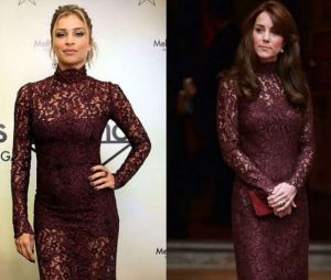 Grazi Massafera e Kate Middleton com o mesmo look!