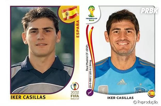 Casillas antes e depois