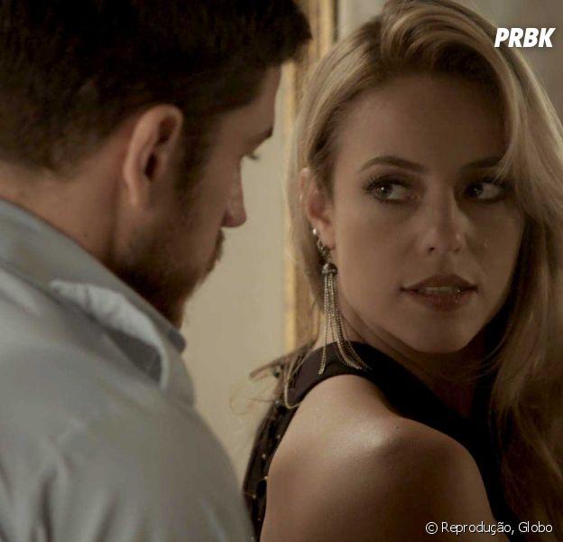 """Em """"A Força do Querer"""", Jeiza (Paolla Oliveira) aceita se casar com Zeca (Marco Pigossi)"""