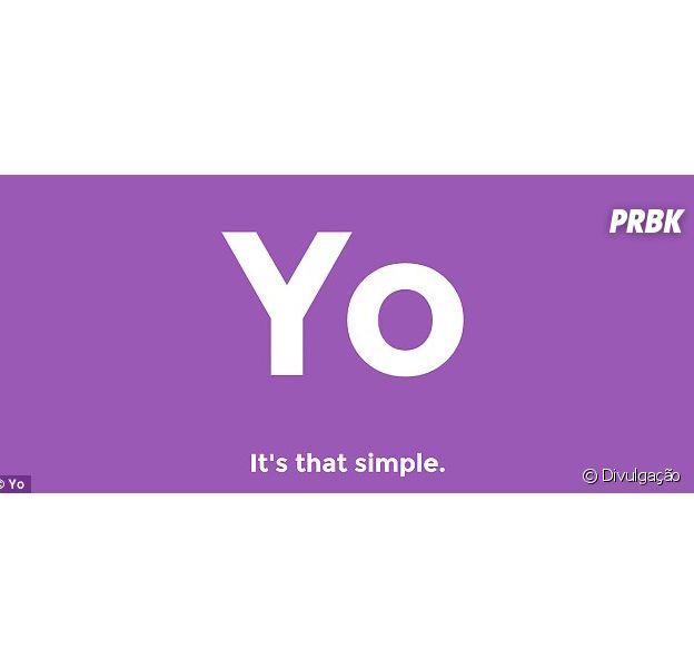 """Novo aplicativo menssageiro, """"Yo"""", envia um simples """"Olá"""""""