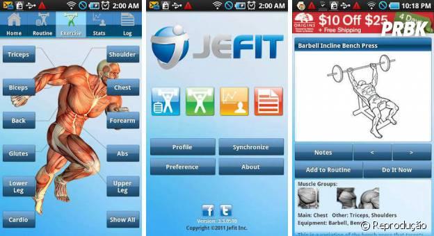 A galera marombeira pode tirar proveito do JetFit