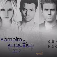 """De """"The Vampire Diaries"""" e """"The Originals"""": atores chegam ao Brasil para a """"Vampire Attraction""""!"""