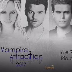 "De ""The Vampire Diaries"" e ""The Originals"": atores chegam ao Brasil para a ""Vampire Attraction""!"