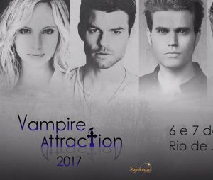 "Atores de ""The Vampire Diaries"" e ""The Originals"" vêm ao Brasil para a ""Vampire Attraction""!"