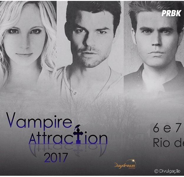 "Atores de ""The Vampire Diaries"" e ""The Originals"" vêm ao Brasil para a ""Vampire Attraction""!"