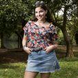 """Gabriela Medvedovski interpreta Keyla, do grupo """"as five"""", em """"Malhação - Viva a Diferença"""", novela da Globo"""