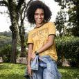 """Heslaine Vieira é a Ellen, do grupo """"as five"""", em """"Malhação - Viva a Diferença"""", novela da Globo"""