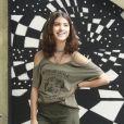 """Giovanna Grigio interpreta a personagem Samantha em """"Malhação - Viva a Diferença"""", novela da Globo"""